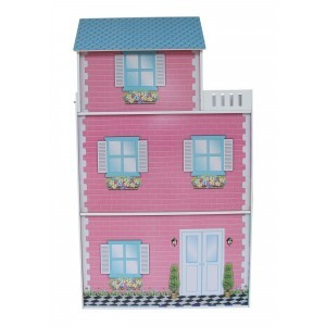 Townhouse Dollhouse with Furniture - Liberty House Toys (LHT10096)