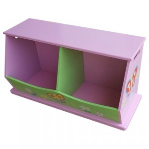 Butterfly Garden 2-bin Storage - Liberty House Toys (LHTB102)