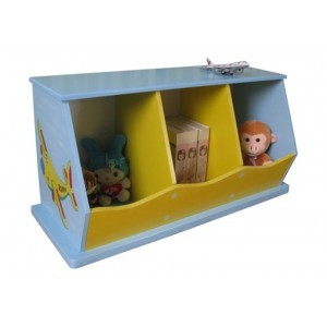 Transport 3-bin Storage Unit - Liberty House Toys (LHTB109)
