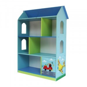 Transport Toy Dollhouse Bookshelf with Cupboard - Liberty House (Liberty-13)