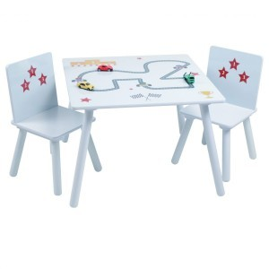 Star Cars Table and Chair Set - Liberty House (Liberty-14)