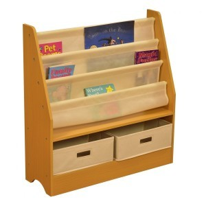 Tikktokk Toy Storage Unit with Two Bins - Liberty House (Liberty-9)