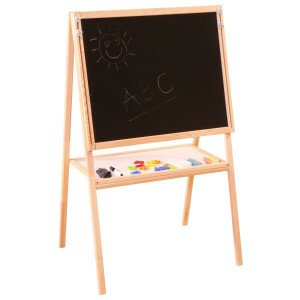 Children's Height Adjustable, Double-sided Easel