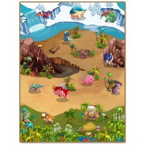 3DU Play Dino Playmat