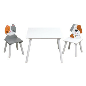 Cat and Dog Table and Chairs