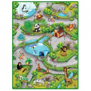 3DU Play Zoo Playmat