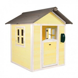 Lodge Playhouse (yellow / white) - Sunny (C050.001.03)
