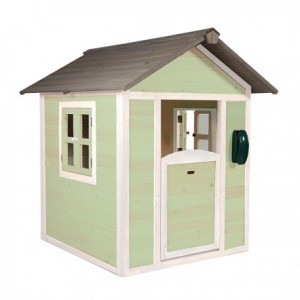 Lodge Playhouse (green / white) - Sunny (C050.001.04)