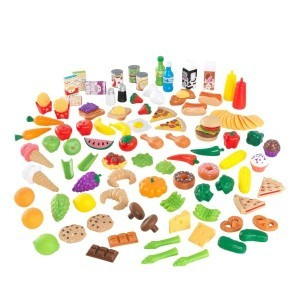 Luxe 115-piece Tasty Treats XXL (Pretend Foods) - Kidkraft (63330)