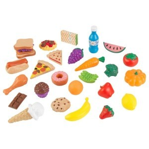 Luxe 30-piece Tasty Treats (Pretend Foods) - Kidkraft (63509)