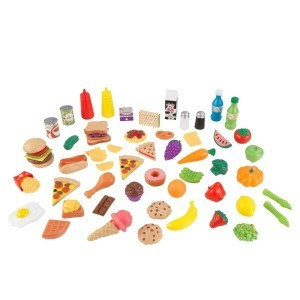 Luxe 65-piece Tasty Treats XL (Pretend Foods) - Kidkraft (63510)