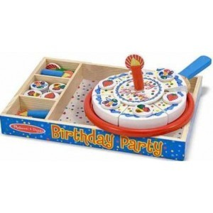 Wooden Birthday Cake - Melissa & Doug (10511)