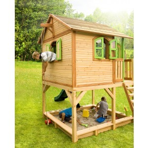 Wooden Playhouse Marc (with Sandbox) - Axi (A030.042.00)