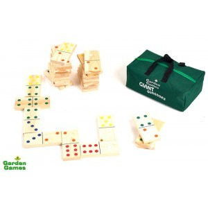 Mega Dominoes in a bag - Garden Games