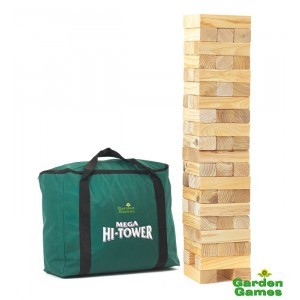 Mega Hi-Tower in a bag (Jenga) - Garden Games (7096001)
