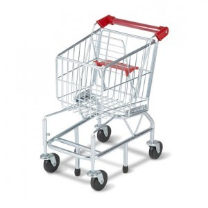 Metal Toy Shopping Cart - Melissa & Doug (14071)