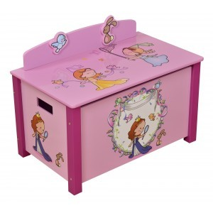 Princess Large Toy Box - Liberty House Toys (MZ4173)