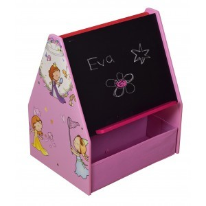 Princess Book Display with Blackboard & Fabric Bins - Liberty House Toys (MZ4520)