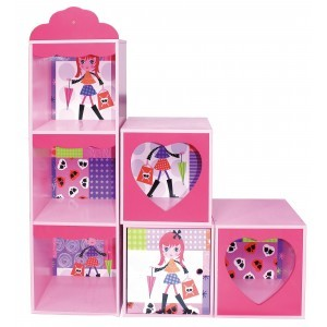 Fashion Girl Shelf And Stacking Storage Units - Liberty House Toys (MZ4609)