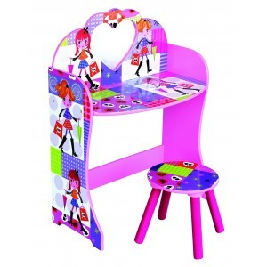 Fashion Girl Dressing Table & Stool - Liberty House Toys (MZ4616)