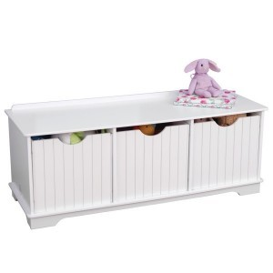 Nantucket Storage Bench (white) - Kidkraft (14564)