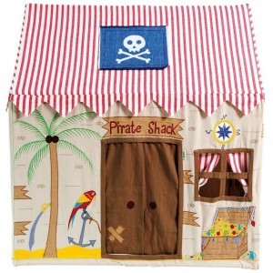 Pirate play tent big - Win Green (PPLarge)