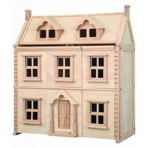 Wooden Victorian Dollhouse