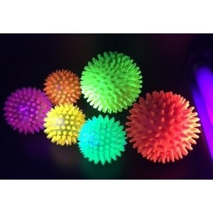 Flashing Spikey Light Up Ball Large