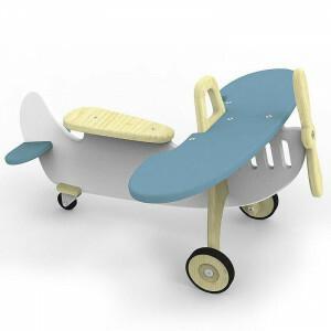 Airplane Rider Marian Blue