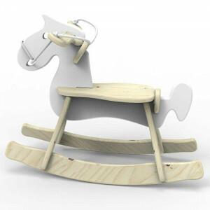 Rocking Horse Steff White