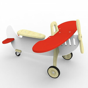 Airplane Rider Marian Red