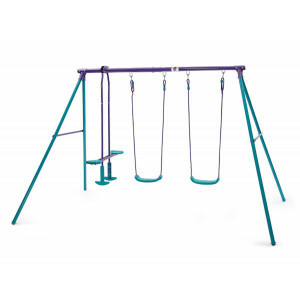 Metal Jupiter Swing - Plum