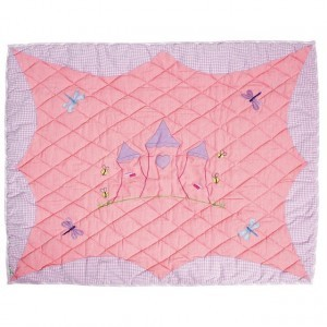 Princess play tent, Princess Castle Floor Quilt Large (Win Green)