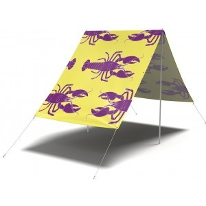 Rock Lobster Yellow Sunshade