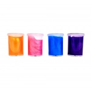 Tactile Colourful Rainbow Slime – Set of 4