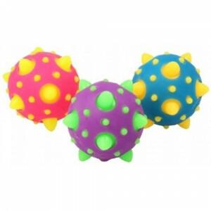 Sensory Tactile Spiky Flashing Meteor Space Ball