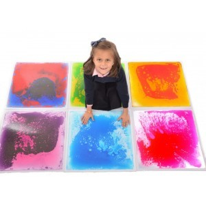 Liquid Floor Tile Set of 6