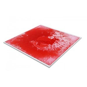 Liquid Floor Tile Red