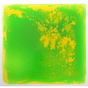 Liquid Floor Tile Green / Yellow