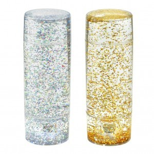 Gold and Silver Glitter Shake & Shine Set of 2