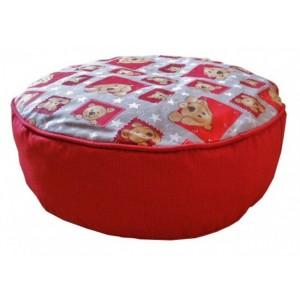Gepetto Seat Cushion with Dog Print 05.07.06.00d