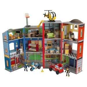 Everyday Heroes Wooden Play Set - Kidkraft (63239)