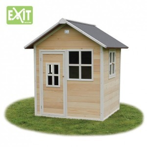 Wooden Playhouse Loft 100 (natural) - EXIT (50.01.01.00)