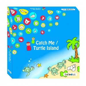 Game set Catch Me and Turtle Island - Beleduc (28010)