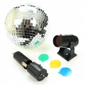 Led Light Projector For Mirror Balls