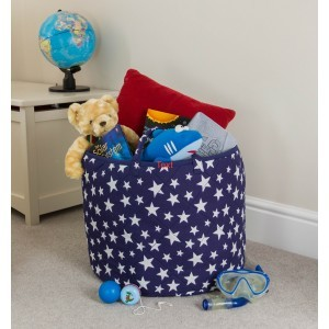Star Toy Basket (Blue) - Kiddiewinkles (BLUESTB)
