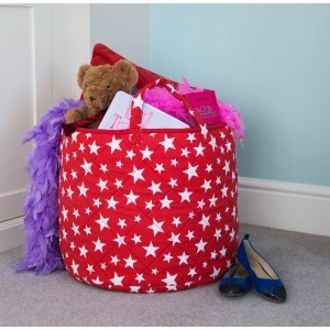 Star Toy Basket (Red) - Kiddiewinkles (REDSTB)