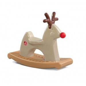 Bump figure Rudolph the Rocking Reindeer - Step 2 (Step2-2)