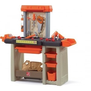 Step 2 Handyman Workbench Orange