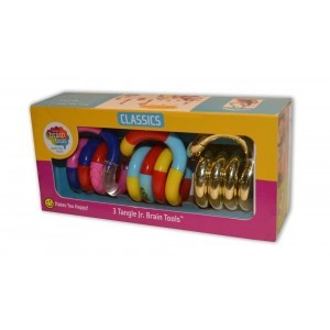 Tangle Sensory Fidget Toys Trio Pack (Classic, Textured, Metallics)